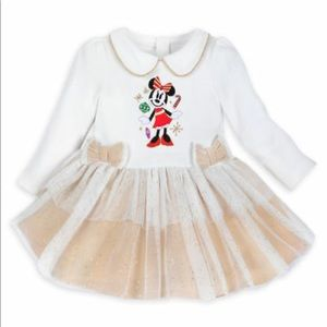 Disney Store Minnie Mouse Christmas tunic dress